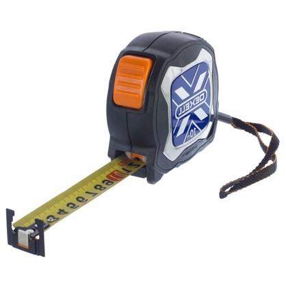 Купить Рулетка Dexell 10 м x 25 мм с магнитом и нейлоновым покрытием дешевле