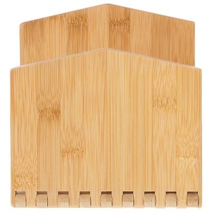 Салфетница Bao 165х85х148 мм цвет бамбук