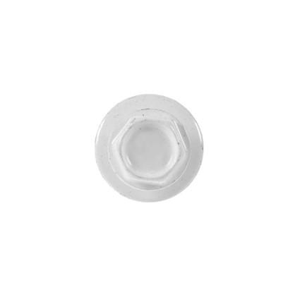 Саморезы кровельные с буром 4.8х50 мм цвет белый