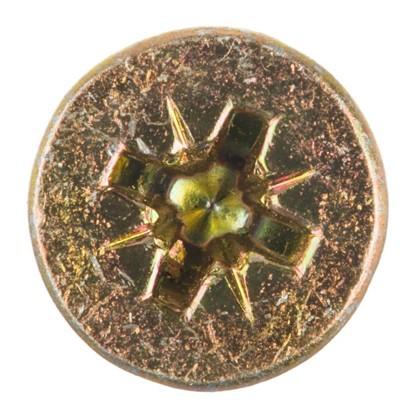 Саморезы универсальные 6x70 мм цвет желтый на вес