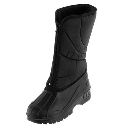 Купить Сапоги женские размеры 36-41 цвет чёрный дешевле