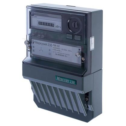 Купить Счетчик Меркурий 230 АМ-02 трёхфазный дешевле