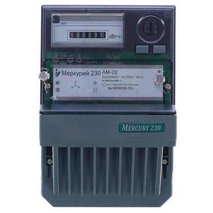 Электросчетчик Меркурий 230 АМ-02 трёхфазный