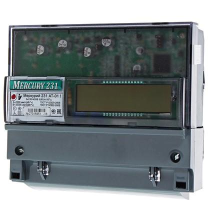 Счетчик Меркурий 231 АТ-01 трехфазный