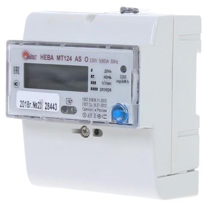 Купить Электросчетчик Нева МТ 124 ASO 5(60)А однофазный дешевле