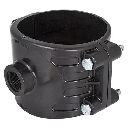 Седёлка для полиэтиленовых труб 110х3/4 мм