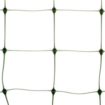 Сетка для вьющихся растений размер ячейки 45х45 мм высота 100 см цвет хаки