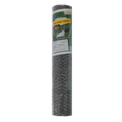 Купить Сетка металлическая плетеная 0.5х10 метров диаметр 13 мм дешевле