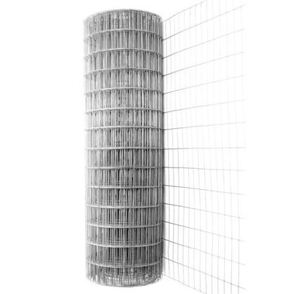 Купить Сетка оцинкованная размер ячейки 75х100 мм размер сетки 1.5х15 м дешевле