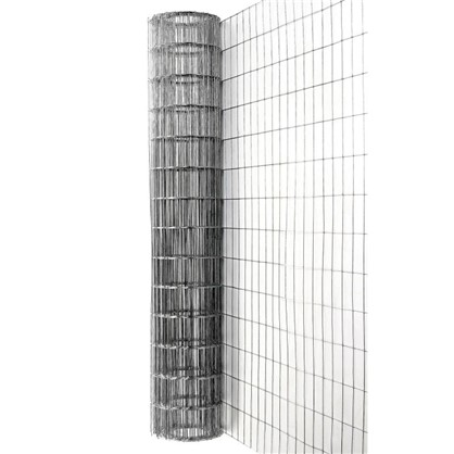 Купить Сетка сварная оцинкованная размер ячейки 75х100 мм размер сетки 1.8х15 м дешевле