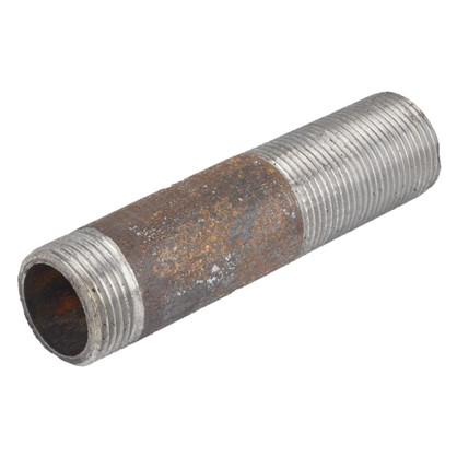 Сгон d 25 мм L 0.13 м сталь цвет черный