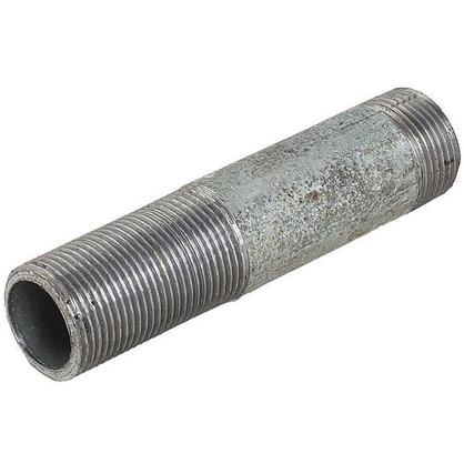 Сгон удлиненный d 20 мм L 0.11 м оцинкованный сталь