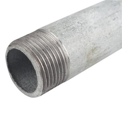 Сгон удлиненный d 25 мм L 0.3 м оцинкованный сталь