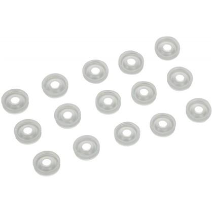 Купить Шайба мебельный для обивки 4 мм пластмасса цвет прозрачный 30 шт. дешевле