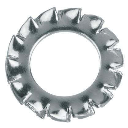 Шайба зубчатая DIN 6798 8 мм 10 шт.