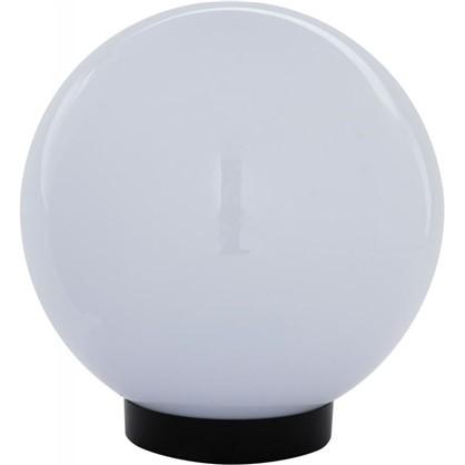 Купить Шар уличный Palla 1xE27x60 Вт 200 мм пластик цвет белый дешевле