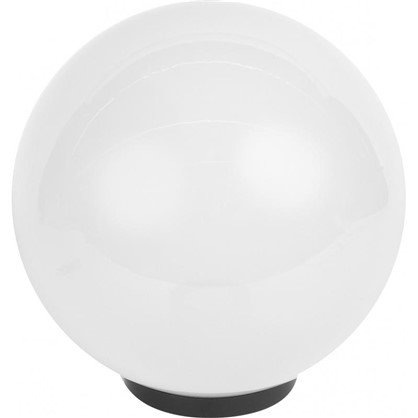 Купить Шар уличный Palla 1xE27x60 Вт 300 мм пластик цвет белый дешевле