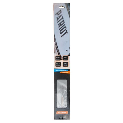 Шина Patriot 18 дюймов с пазом 1.5 мм и шагом цепи 3/8 дюйма