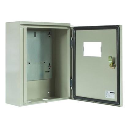 Щит металлический IEK ЩУ 3/1-0 74 У1 на 3 модуля IP54