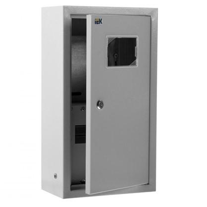 Щит металлический IEK ЩУРн-1/9зо-1 36 УХЛ3 на 9 модулей IP31