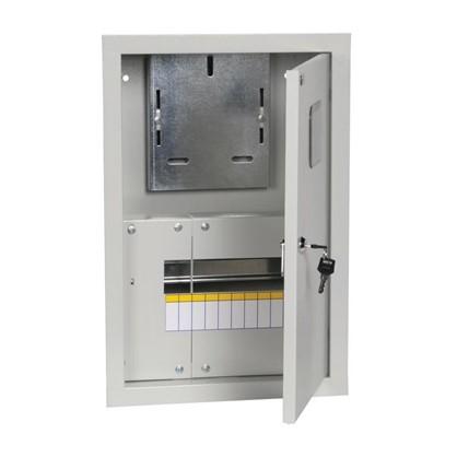 Щит металлический IEK ЩУРв-1/9зо-1 36 на 9 модулей IP31