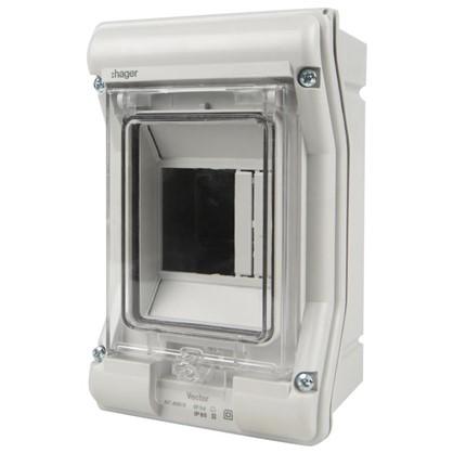 Купить Щит пластиковый Hager Vector на 3 модуля IP65 дешевле