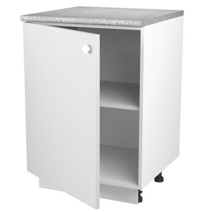 Купить Шкаф напольный Бьянка Д с фасадом 86х60 см цвет белый дешевле