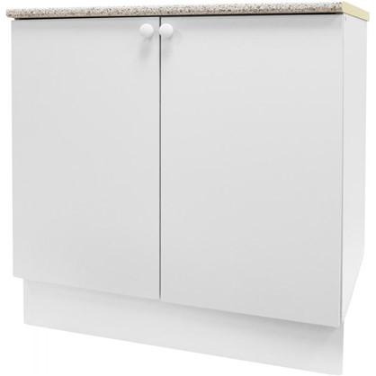 Купить Шкаф напольный Бьянка Д с фасадом 86х80 см цвет белый дешевле