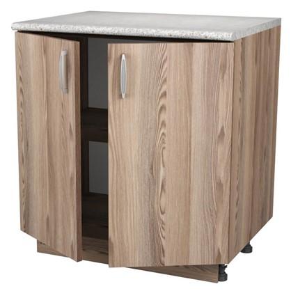 Купить Шкаф напольный Дуб шато Сп 85х80 см цвет дуб дешевле
