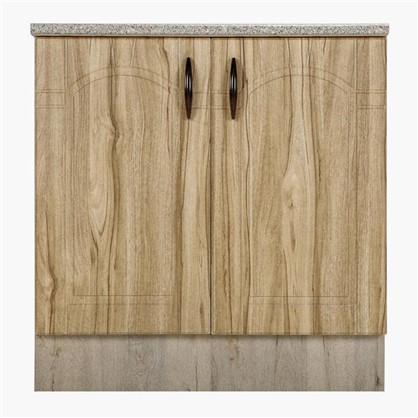 Шкаф напольный Камила 80-85х80 см МДФ цвет светлый каштан