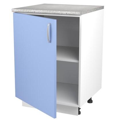 Шкаф напольный Лагуна Сп 85х60 см цвет голубой