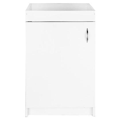Купить Шкаф напольный под мойку 82х50 см с фасадом ЛДСП цвет белый дешевле