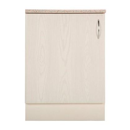 Шкаф напольный Рондо 80-85х60 см МДФ цвет белый
