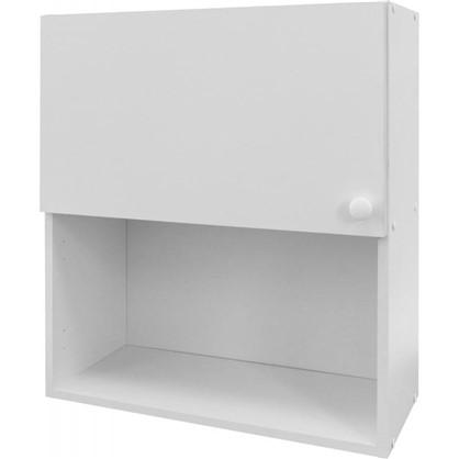 Купить Шкаф навесной Бьянка Д с фасадом 67.6х60 см цвет белый дешевле