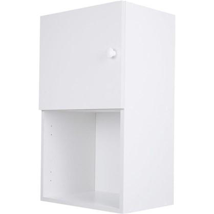 Шкаф навесной Бьянка Сп с фасадом 68х40 см ЛДСП цвет белый