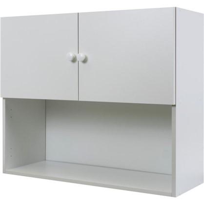 Шкаф навесной Бьянка Сп с фасадом 68х80 см ЛДСП цвет белый