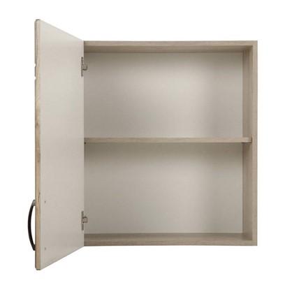 Шкаф навесной Камила 68х60 см МДФ цвет светлый каштан