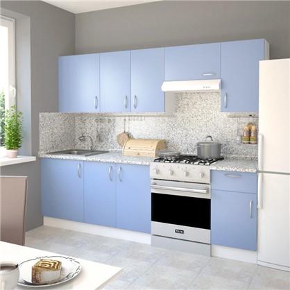 Купить Шкаф навесной Лагуна Сп 68х40 см цвет голубой дешевле