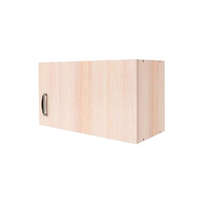 Шкаф навесной над вытяжкой Дуб Молочный Д 34.7х60 см цвет дуб