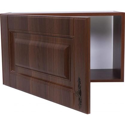 Шкаф навесной над вытяжкой Орех Р 35х60 см МДФ цвет орех