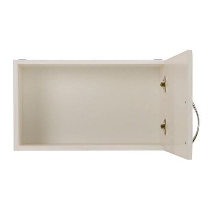 Шкаф навесной над вытяжкой Рондо 35х60 см МДФ цвет белый