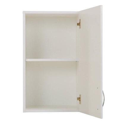 Шкаф навесной Рондо 68х40 см МДФ цвет белый