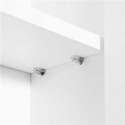 Шкаф для ванной подвесной Авангард 30 см цвет белый