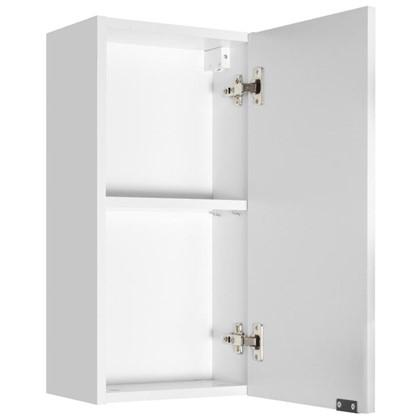 Шкаф для ванной подвесной Авангард 30x60 см цвет белый