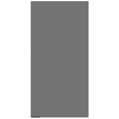Шкаф для ванной подвесной Авангард 30x60 см цвет серый