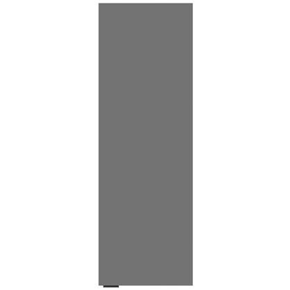 Купить Шкаф для ванной подвесной Авангард 30x90 см цвет серый дешевле