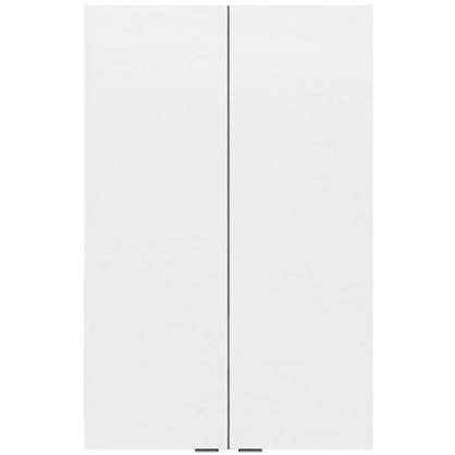 Купить Шкаф для ванной подвесной Авангард 60x90 см цвет белый дешевле