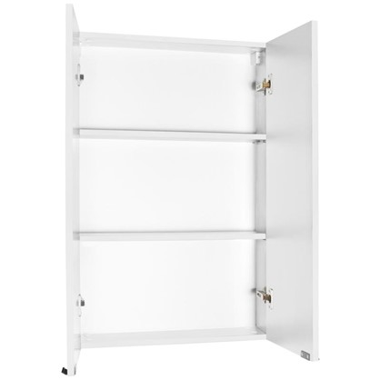 Шкаф для ванной подвесной Авангард 60x90 см цвет белый