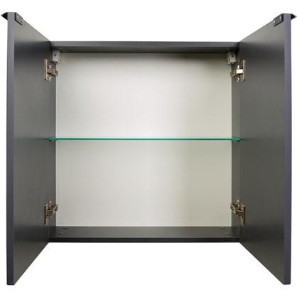 Купить Шкаф для ванной подвесной Авангард нижний 60 см цвет серый дешевле