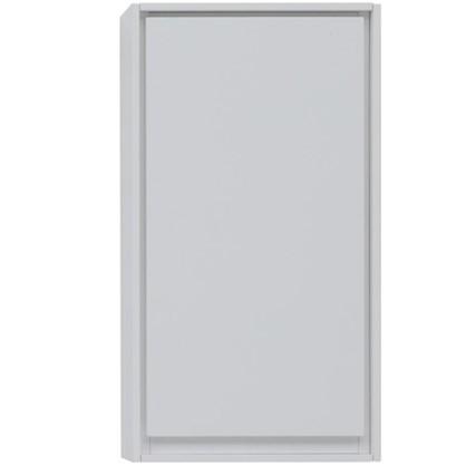 Шкаф для ванной подвесной Мокка 35 см цвет белый глянец